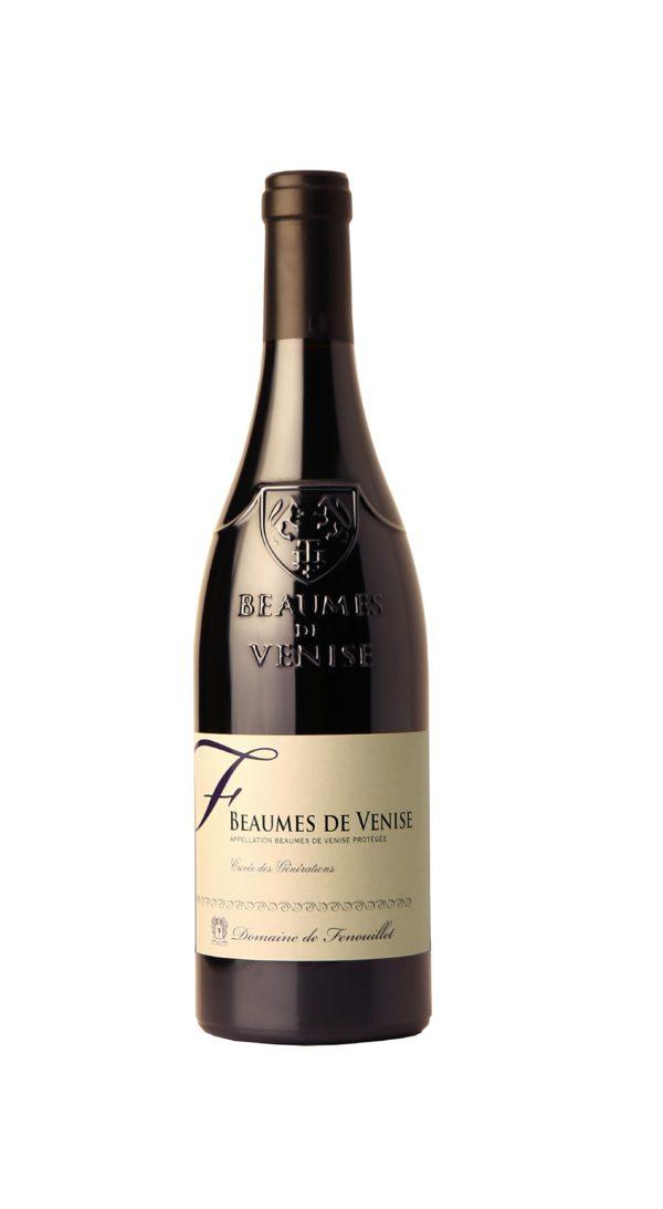 Domaine de Fenouillet Beaumes de Venise Rouge cuvée : Générations
